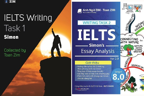 کتاب IELTS Writing Task 1 ,2 Simon